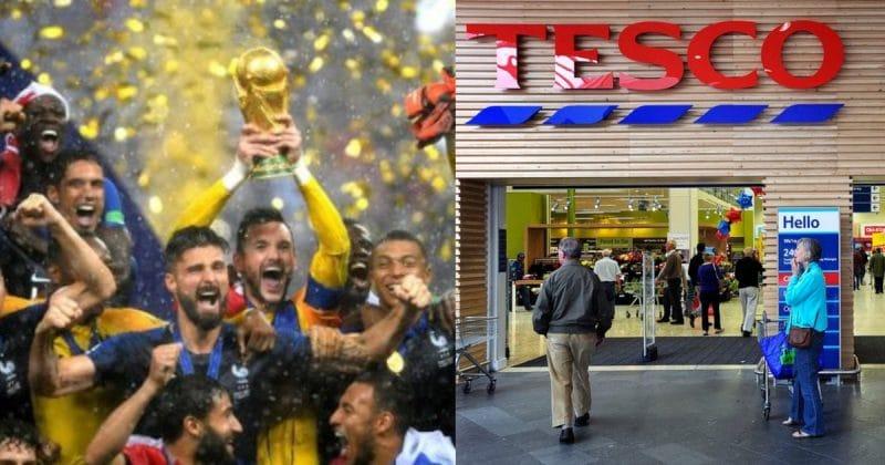 Общество: Клиентка Tesco пожаловалась на магазин, который закрылся раньше из-за финала Чемпионата мира, но ее назвали стукачкой