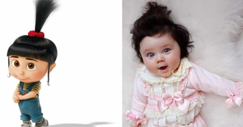 """Общество: Познакомьтесь с настоящей Агнес из """"Гадкого Я""""! Восьмимесячная малышка стала крошечной знаменитостью"""