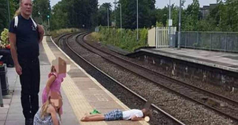Общество: Работник ж/д станции снял на телефон ужасную сцену на платформе в Уилтшире, свидетелем которой он стал