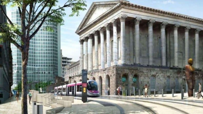 Лайфхаки и советы: Из-за расширения трамвайных путей в Бирмингеме перекроют несколько центральных улиц