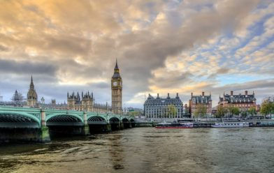 пейзаж Лондона