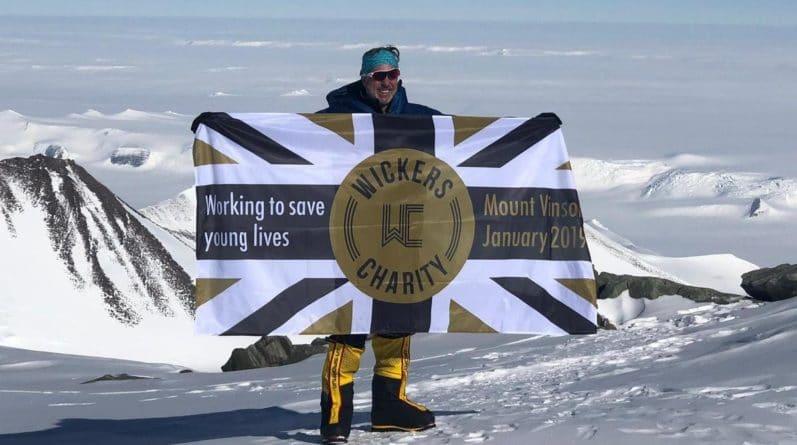 Общество: Мужчина из Лондона поднялся на самую высокую точку Антарктиды, чтобы остановить преступления в столице