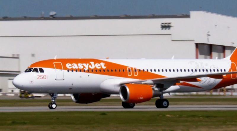 Общество: EasyJet запретила употребление орехов на борту самолета