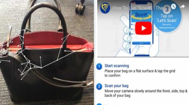 Лайфхаки и советы: Приложение Ryanair отсканирует вашу сумку и скажет, можно ли взять ее с собой как ручную кладь