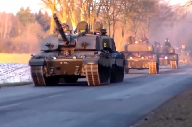 Общество: Британские СМИ: количество «Челленджеров-2» уменьшат до уровня танковой бригады