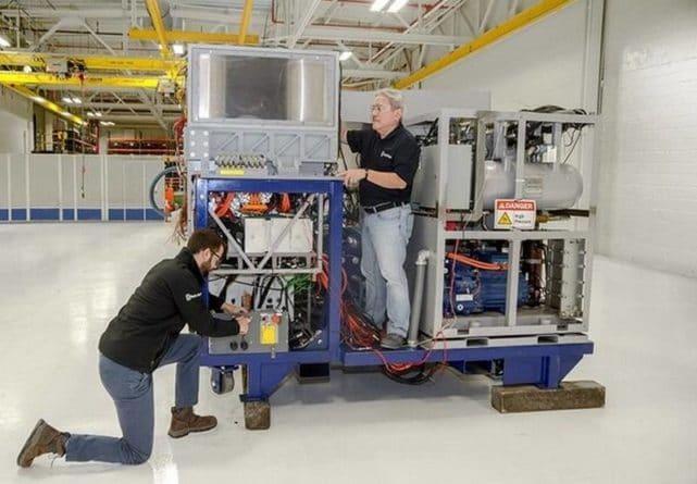 Общество: Британцы показали гибридную энергоустановку для боевых лазеров