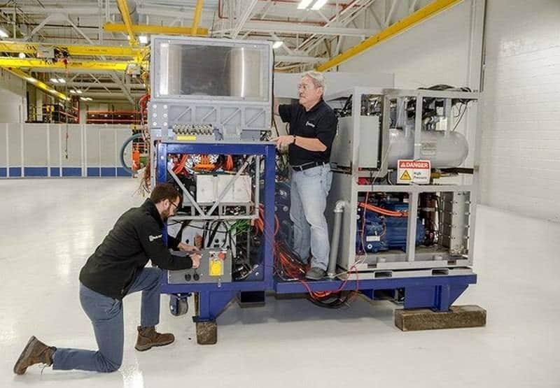 Британцы показали гибридную энергоустановку для боевых лазеров