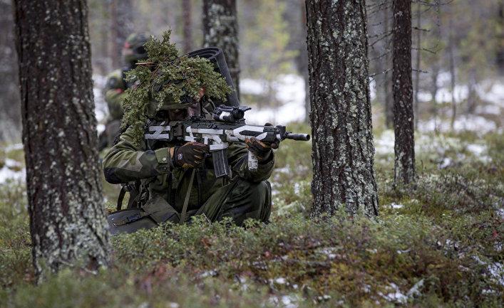 В мире: Forsvarets forum (Норвегия): шведы до смерти боятся остаться одни