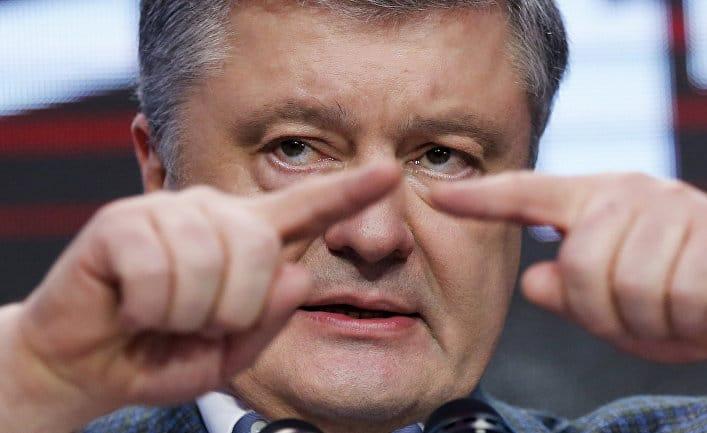 Общество: Главред (Украина): клещ Петя, или как Запад просил Порошенко уйти
