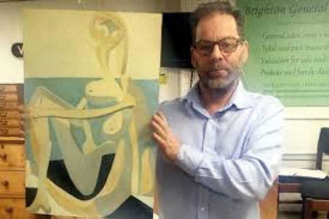 Общество: В Британии во время гаражной распродажи продали картину Пикассо за £ 230