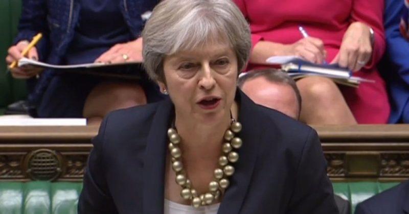 Общество: Тереза Мэй согласилась на голосование о новом референдуме по Brexit