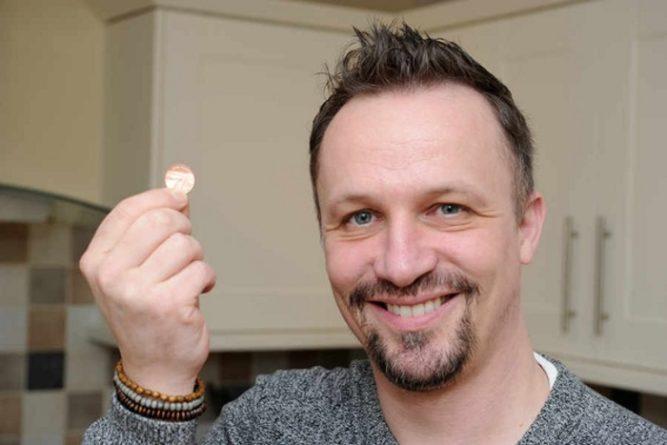 Без рубрики: Британец обклеил пол монетами, и получился потрясающий дизайн