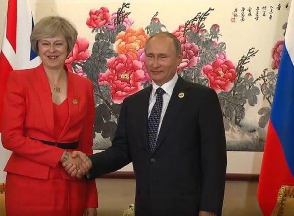Политика: В Британии анонсировали встречу Путина и Мэй