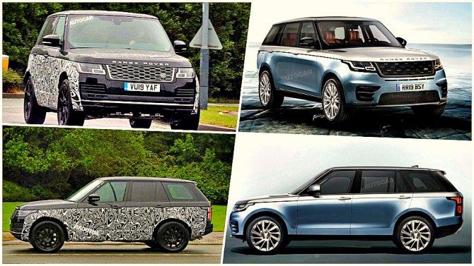 Общество: ВАнглии тестируется новый Range Rover