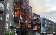 Общество: При пожаре в Лондоне сгорели два десятка квартир