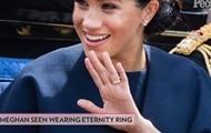 Знаменитости: СМИ раскрыли тайну нового кольца Меган Маркл
