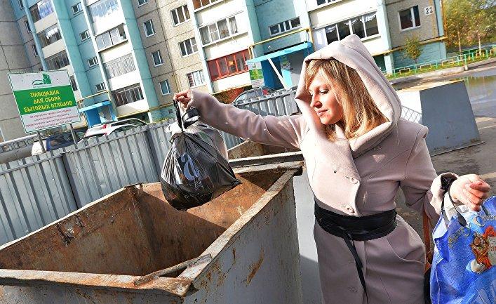 Общество: The Economist (Великобритания): мусор в России превращается в политическую проблему