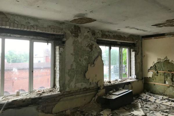 Без рубрики: «Стало-было»: в корпорации развития показали, что происходит с Домом пожарных