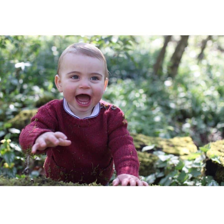 День рождения принца Луи: появились новые фото младшего сына Кейт Миддлтон и принца Уильяма