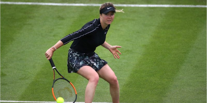 Спорт: Свитолина проиграла россиянке впервом раунде турнира вВеликобритании— видео