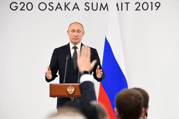 Общество: Путин Тереза Мэй: Путин объяснил, в чем был смысл встречи с премьером Великобритании Терезой Мэй