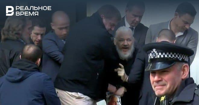 Общество: США направили Великобритании запрос об экстрадиции Ассанжа — СМИ