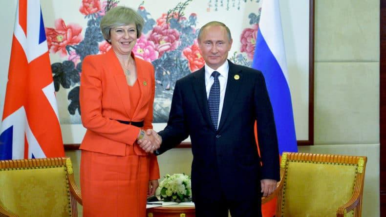 Общество: Лондон отреагировал на возможность встречи Мэй и Путина