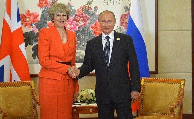 Путин встретится c премьер-министром Великобритании Терезой Мэй