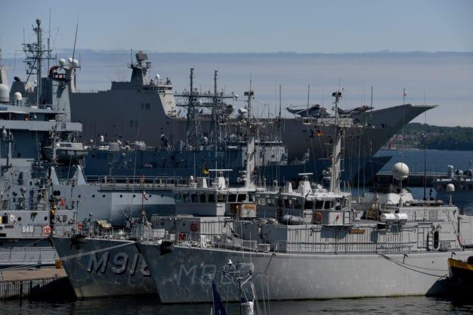 Британские военные корабли вошли в Балтийское море