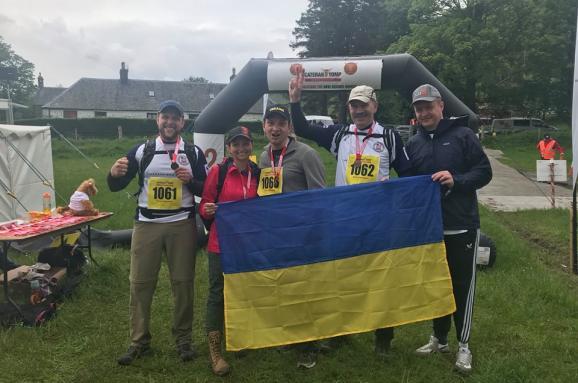 Общество: Украинские военные победили на суточном марш-броске в Шотландии