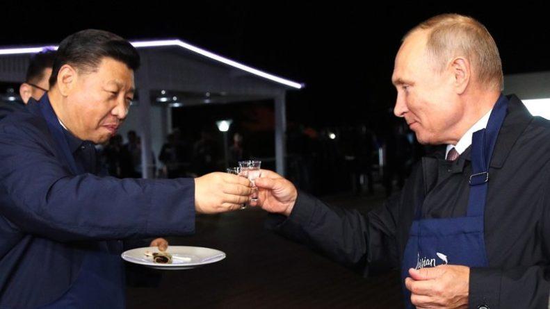 Общество: Союз России и Китая под давлением Запада достиг критической массы