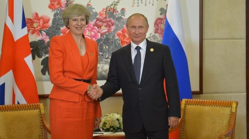 Общество: СМИ сообщили о планах Мэй встретиться с Путиным