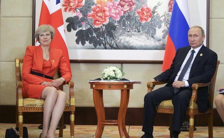 Общество: В Госдуме прокомментировали возможность встречи Мэй и Путина