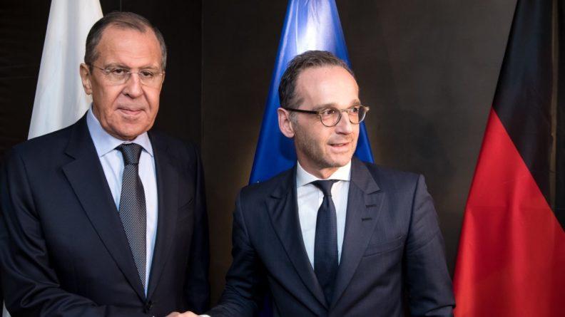 Политика: Лавров и Маас встретятся на форуме «Петербургский диалог» в Германии