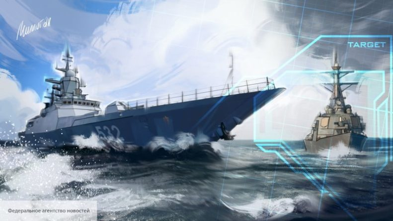 Общество: Британцев насмешил новейший корабль Великобритании, сопроводивший корвет России