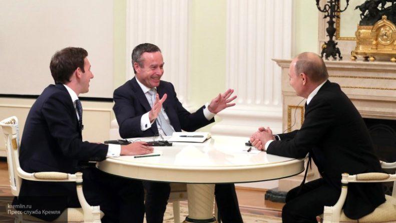Общество: Британский журналист раскрыл мнение о Путине после интервью