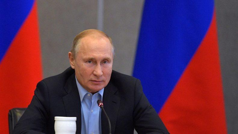 Общество: Путин рассказал о стоящем перед Евросоюзом выборе