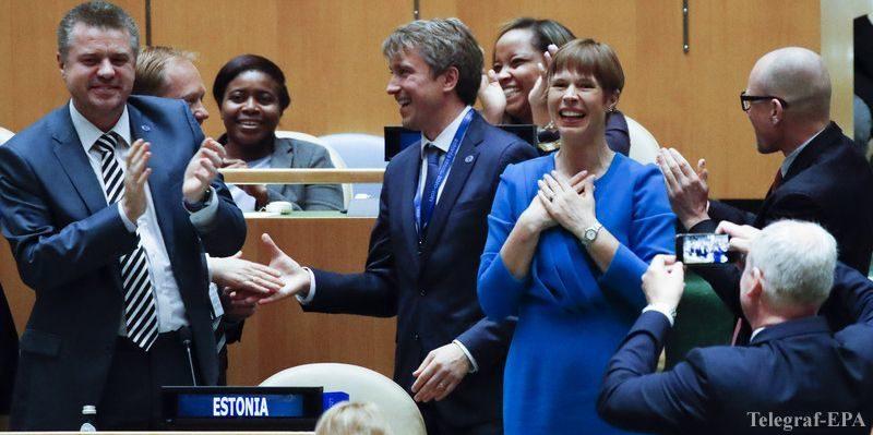 Общество: Эстонию избрали членом СБ ООН: комментарий президента Кальюлайд