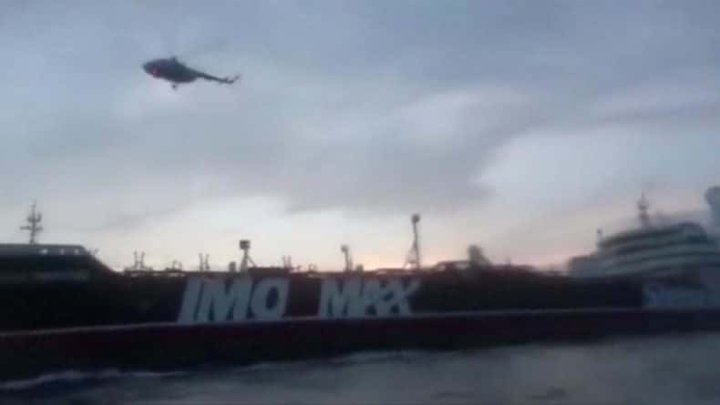 Общество: Лондон готовит ответ Тегерану на задержание танкера под британским флагом