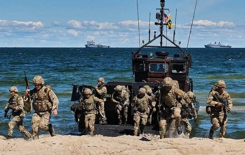Британские коммандос показали эстонским партнёрам свою боеготовность