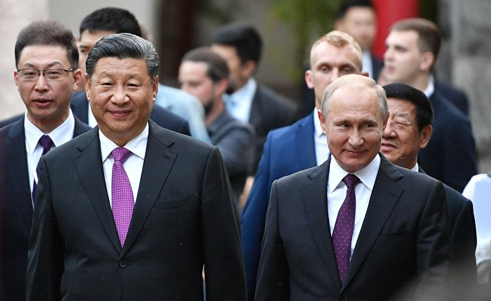 Общество: The Telegraph (Великобритания): Почему объединяют усилия Путин и Цзиньпин, в то время как Южная Корея стреляет по российским самолетам?