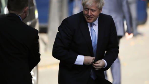Без рубрики: Новый премьер Великобритании -  Туск поздравил Джонсона