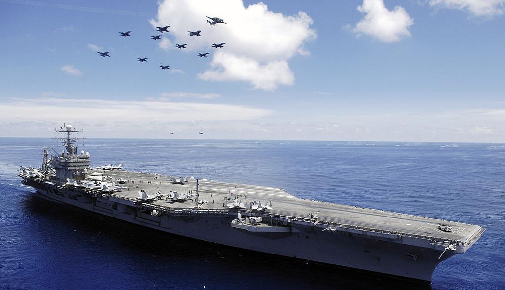 Без рубрики: авианосец США USS Abraham Lincoln
