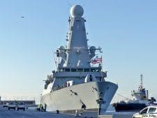 Без рубрики: Британский эсминец HMS Duncan