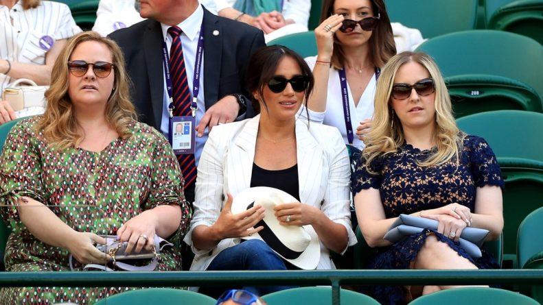 Общество: Британцы возмутились запретом фотографировать Меган Маркл на Уимблдоне