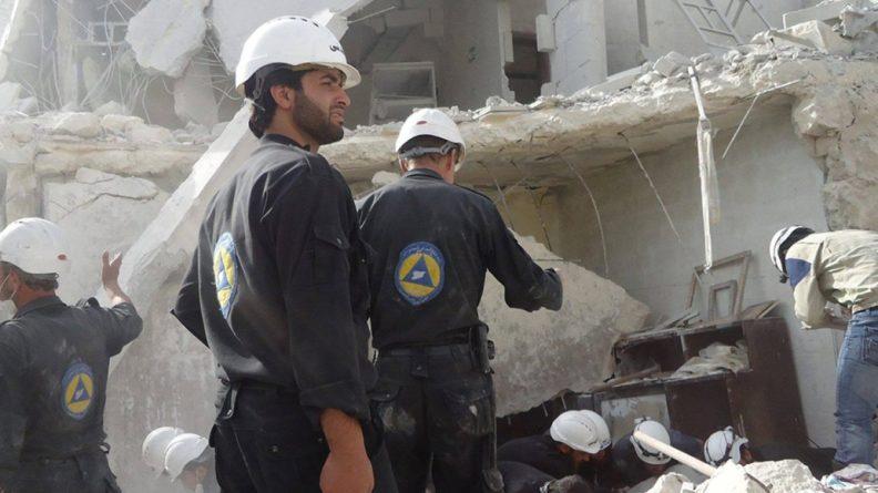 Общество: Россия сообщила Великобритании, что «Белые каски» — не лучший источник новостей о Сирии