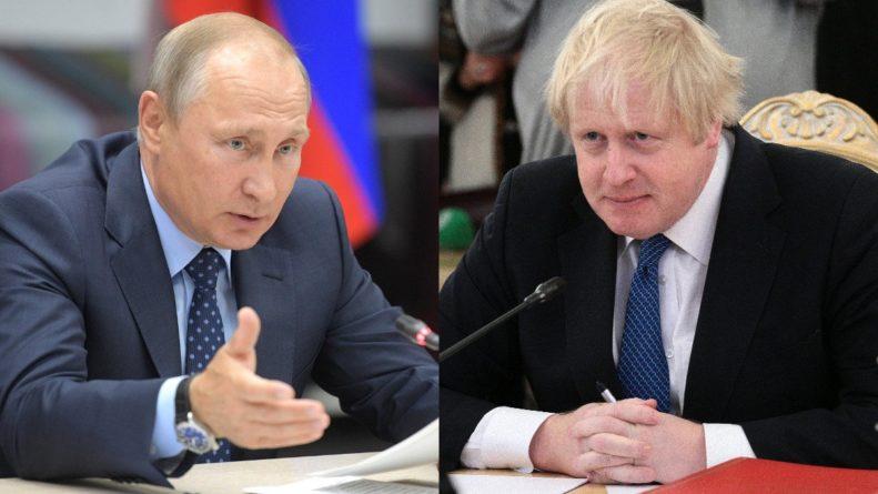 Общество: Путин поздравил Джонсона с победой на выборах премьер-министра Великобритании