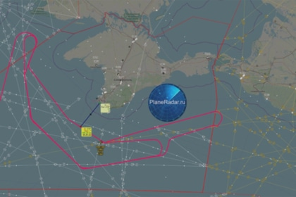 Британский самолет-разведчик подлетел кКрыму второй раз задвое суток