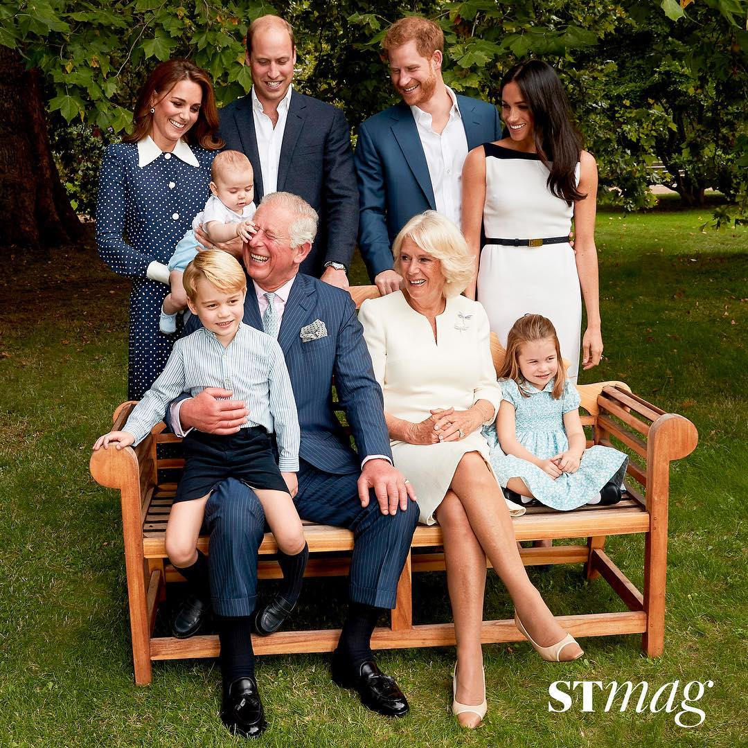 Без рубрики: Младший сын Кейт Миддлтон украсил обложку журнала вместе с дедушкой: яркие фото рис 2