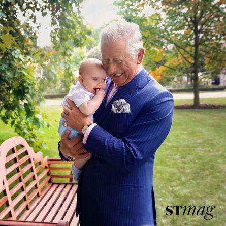Без рубрики: Младший сын Кейт Миддлтон украсил обложку журнала вместе с дедушкой: яркие фото
